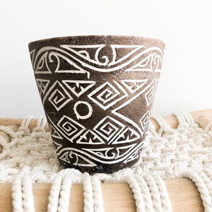 Medium Tribal Wooden Carved Bowl