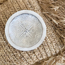 Small Hand Carved Plate