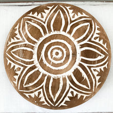 Handcarved Lotus Plate