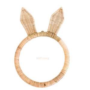 Avalon Rattan Bunny Wall Hanging
