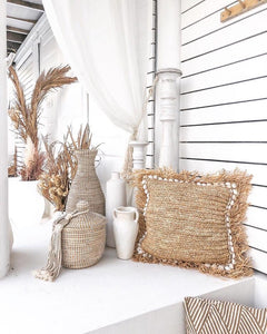 COVE Raffia Cushion by NMP
