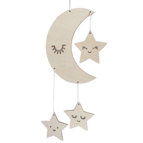 NMP to the Moon & Stars Wall Hanging