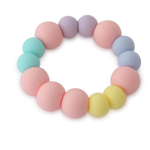 Mia Pastel Pink Teether Bracelet