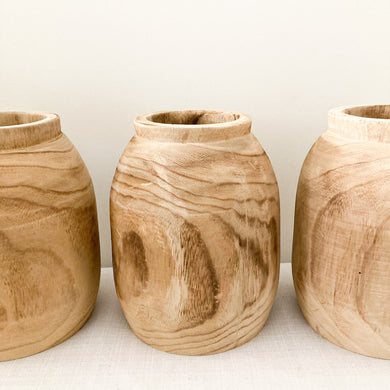 Kima Timber Pot