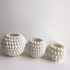 Shell Candle Holders (Set of 3)