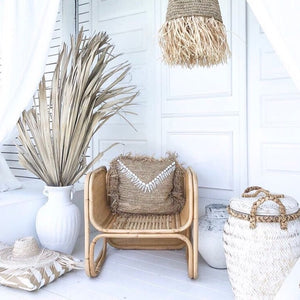 KAILANI Raffia Cushion by NMP