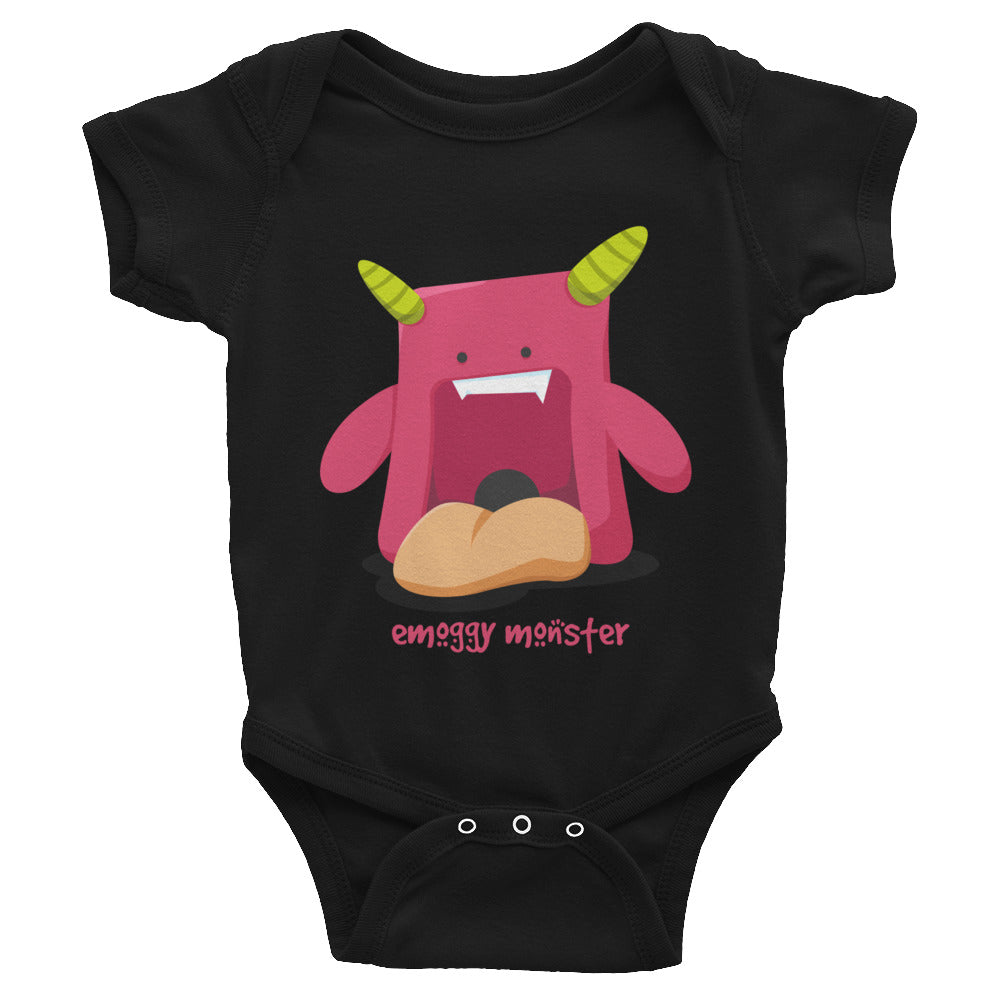 Emoggy Monsters Guzu Baby Bodysuit