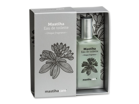 Eau de toilette with mastic