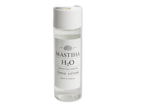 Face lotion with Chios mastic