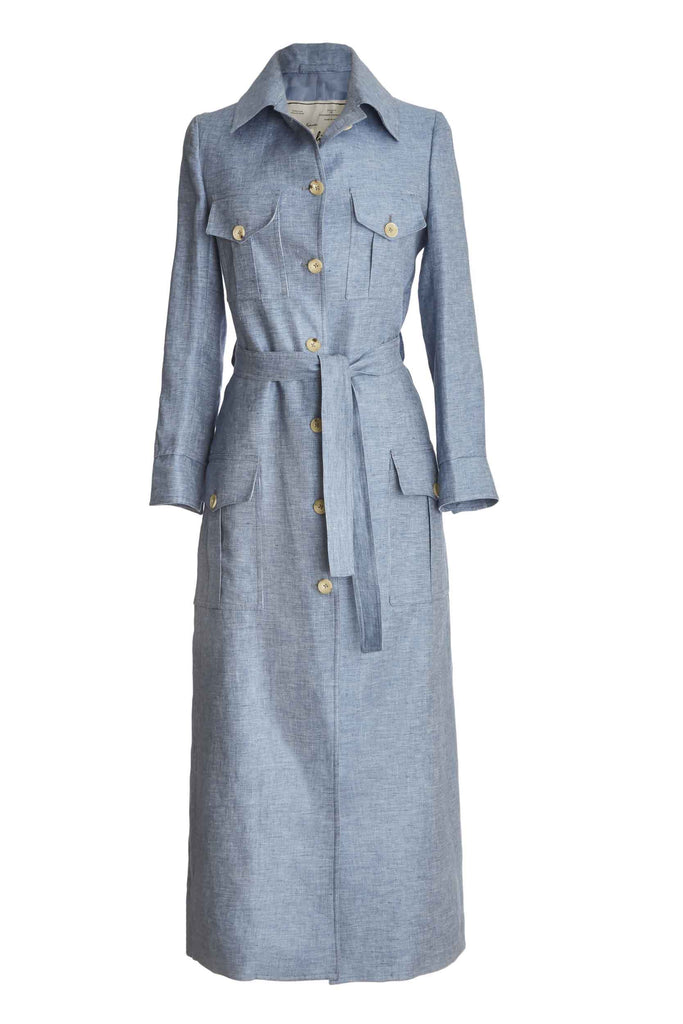 Mary Angel 1930 safari dress