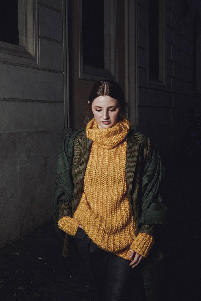 Nausica cable knit sweater