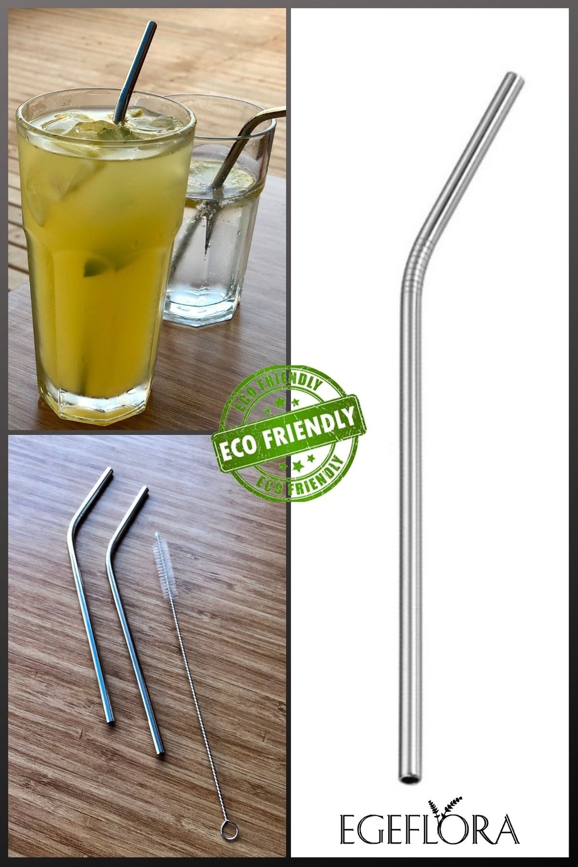Stainless Steel Reusable Metal Straw