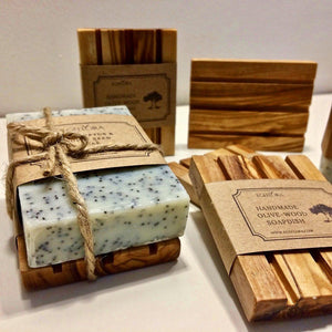 Handmade oliveoil natural cold process soap homemade design- Egeflora