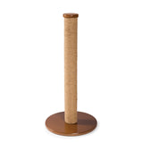 "Kitty Power Paws Tall Round Scratching Post 31 3/4"" H"