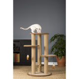 "Kitty Power Paws Multi-Tier Cat Scratching Post 37"" H"