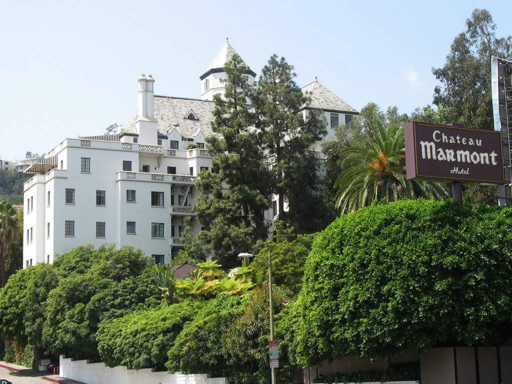 The Chateau Marmont, Los Angeles