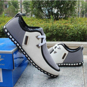 2017 Spring breathable doug men loafers casual shoes increased within flats the British fashion lace up male shoe human race