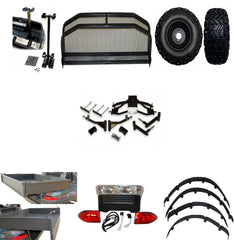 Electric Club Car Precedent Hunting Package ( FREE SHIPPING )