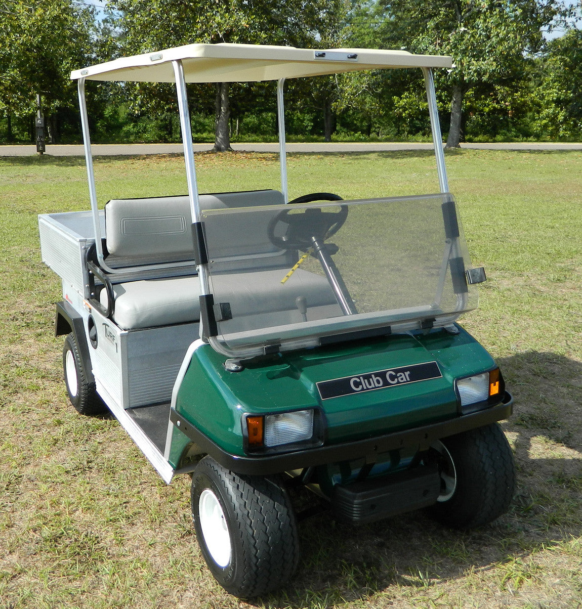 Club Car DS Clear Split Windshield (Old Style) | Mr Golf Carts