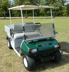 Club Car DS Clear Split Windshield (Old Style)