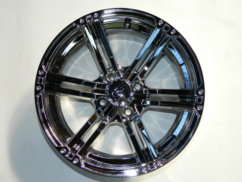 "(4)12"" Specter Machined w/ Black Wheel with 23x10.50-12 MGC Multi-Trax II A/T Tire"