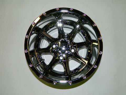 "12"" Tremor Machined w/ Black Wheel with 23x10.50-12 MGC Multi-Trax A/T Tire"