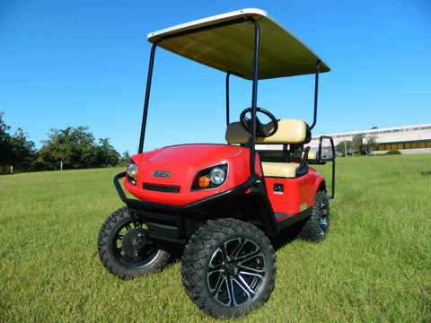 EX0567 2018 Red EZGO Express S4 Gas
