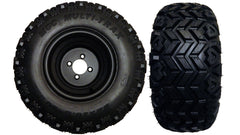 "10"" Black Steel Wheel and 22x10.50-10 MGC Multi-Trax A/T Tire"