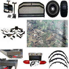 Electric Club Car Precedent Hunting Package w/ Dipped Camo Body ( FREE SHIPPING )