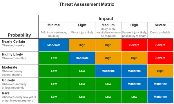 Threat Assessment Matrix