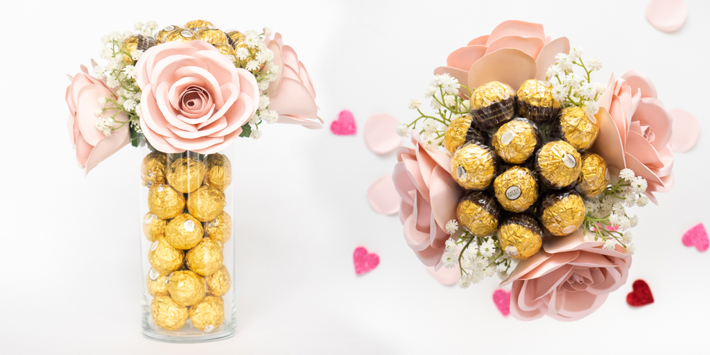 Alani Pink Rose Bouquet chocolate