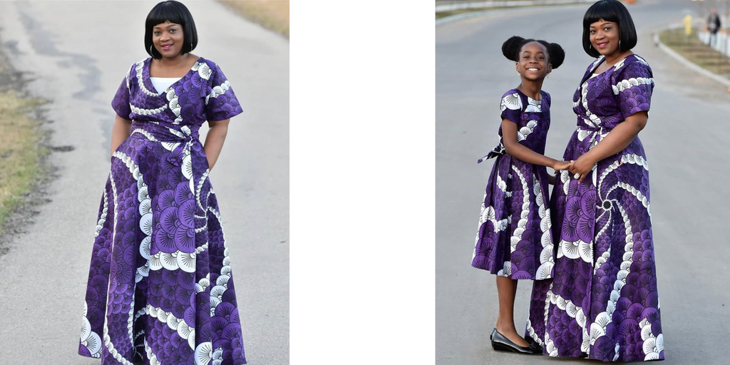 esteri collection mother and daughter dress