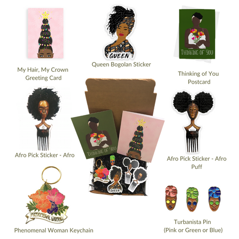 BLACK GIRL MAGIC Gift Box