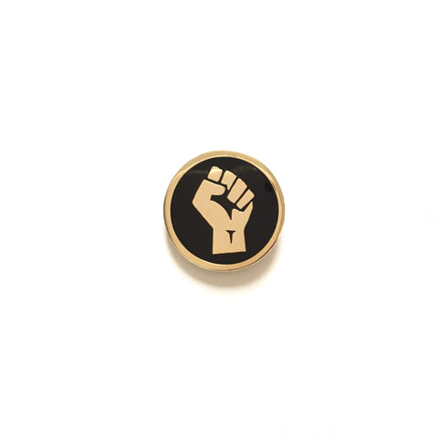 Resist fist pin | Enamel pin