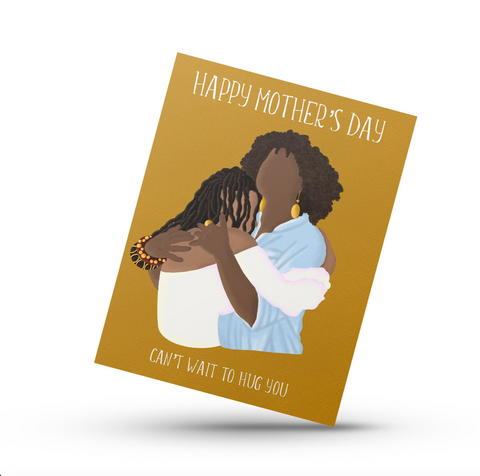 Can't Wait To Hug You | Greeting Card