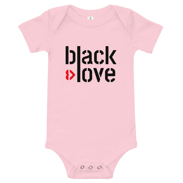 Black Love baby bodysuit