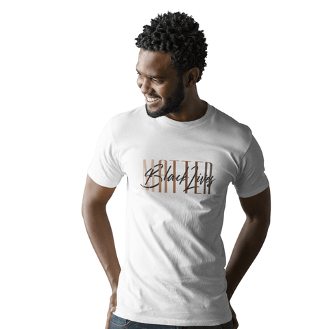 Black Lives Matter | Unisex T-shirt | white