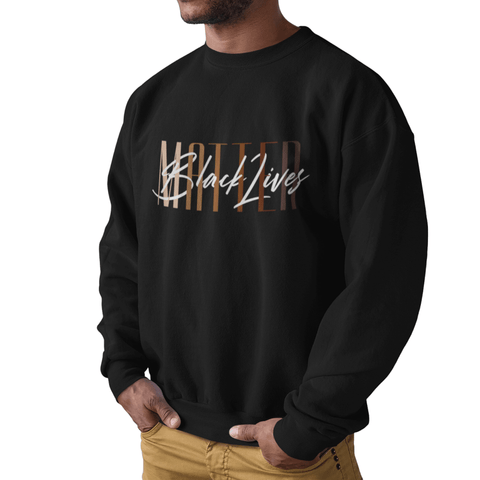 Black Lives Matter Unisex Sweatshirt |