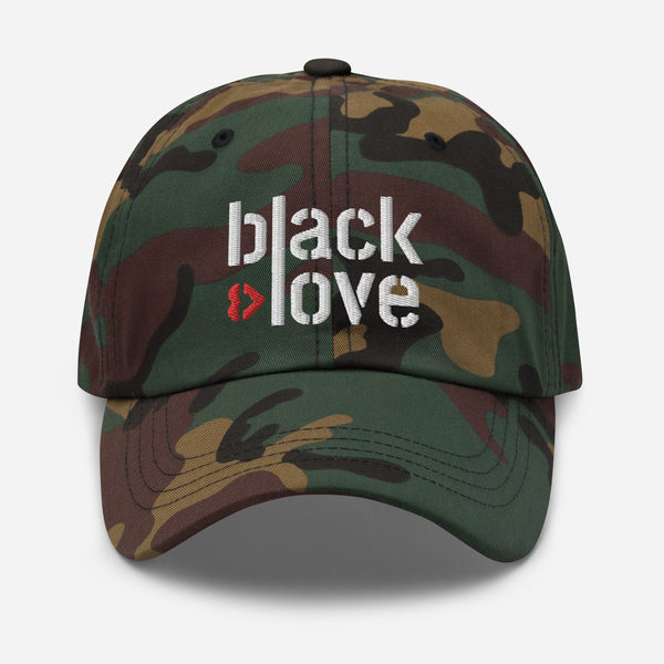 Black Love Dad hat