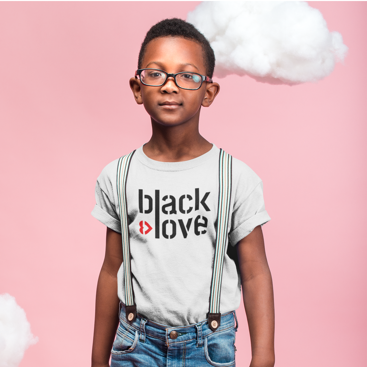 I ♥ Black Love (Youth) T-Shirt