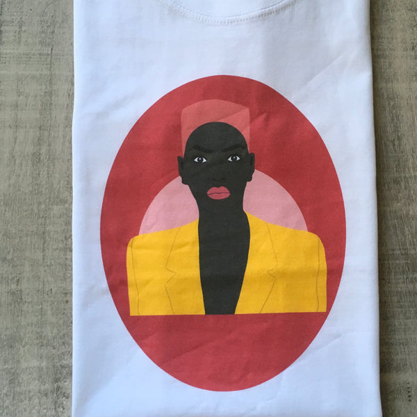 "Black woman ""Grace"" fitted t-shirt"