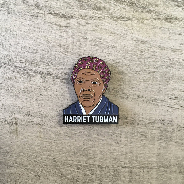 Harriet Tubman pin