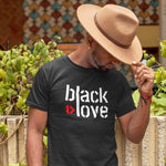I ♥ Black Love Unisex T-Shirt