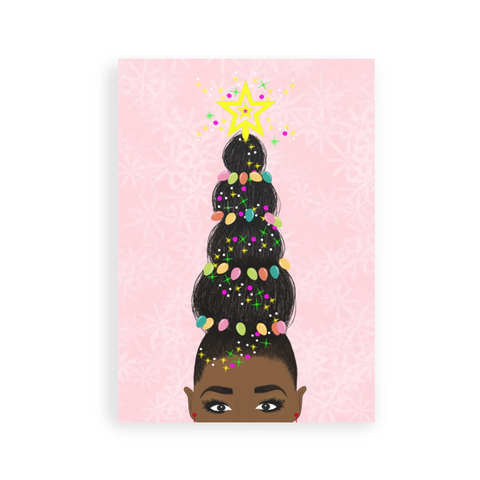 My Hair, My Crown Greeting Card | Greeting Card