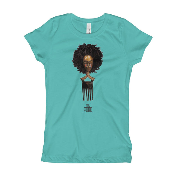 Afro Pick Mask T-Shirt - Afro (Girl)