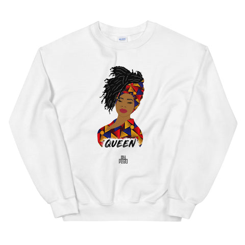 Queen woman sweatshirt | African print | African Queen | Natural Hair