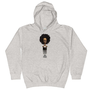 Afro Pick Mask Hoodie - Afro (Youth)