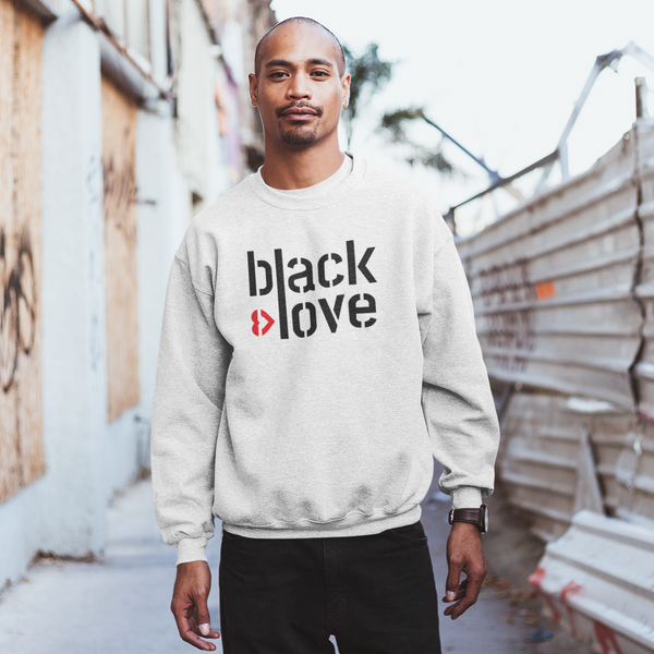 I ♥ Black Love Unisex Sweatshirt