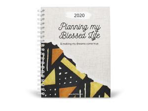 Planning my Blessed Life | Undated planner