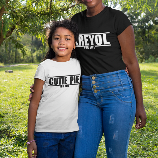 Cutie Pie for Life | Youth T-Shirt |